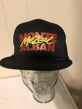 Mezcak Trucker Hat Monte Alban Black Snapback Mesh Cap - $6.92