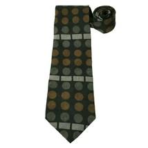 "Kenneth Cole Reaction Necktie 58"" Long Geometric Classic Width Tie - $8.90"