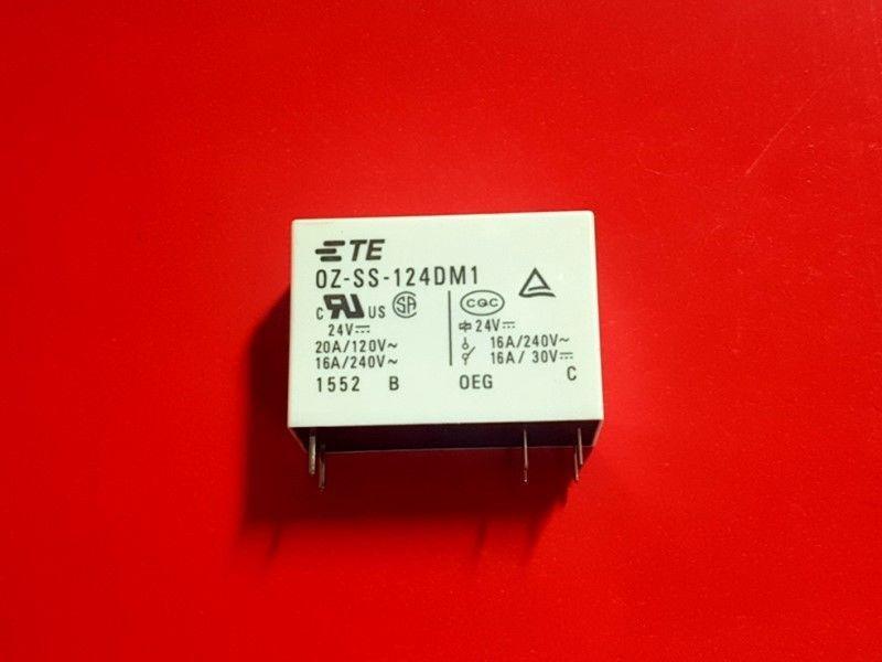 OZ-SS-124DM1, 24VDC Relay, TE Brand New!! - $4.90