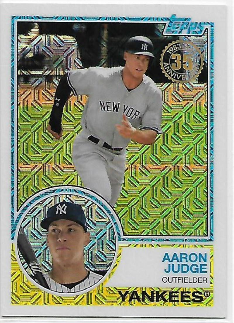 Primary image for 2018 Topps 83 Chrome Silver Promo Series 1 #13 Aaron Judge NM-MT Yankees