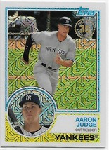 2018 Topps 83 Chrome Silver Promo Series 1 #13 Aaron Judge NM-MT Yankees  - $15.00