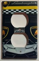 Lamborghini auto sport car Light Switch Power outlet Wall Cover Plate Home decor image 14