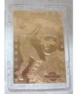 1993 FRANK THOMAS PROMINT 22KT GOLD CARD #27 - $9.00