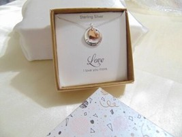 Unwritten Sterling Silver I Love You More Pendant Necklace X501 $100 - $38.39