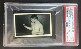 1935 UTC United Tobacco Company World Famous Boxers #22 LOU NOVA - PSA 5 - $38.61