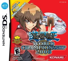 Yu-Gi-Oh! World Championship Tournament 2008 - Nintendo DS [video game] - $19.21