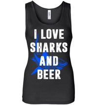 I Love Sharks And Beer Tank - $29.21 CAD+