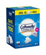 Cottonelle Superior Clean Flushable Wipes 504 Count - 12 Packs of 42 Wipes - $28.95