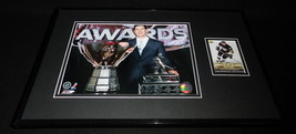 Sidney Crosby Framed ORIGINAL 2005 Upper Deck PB Rookie Card & Photo Set Pens - $74.44
