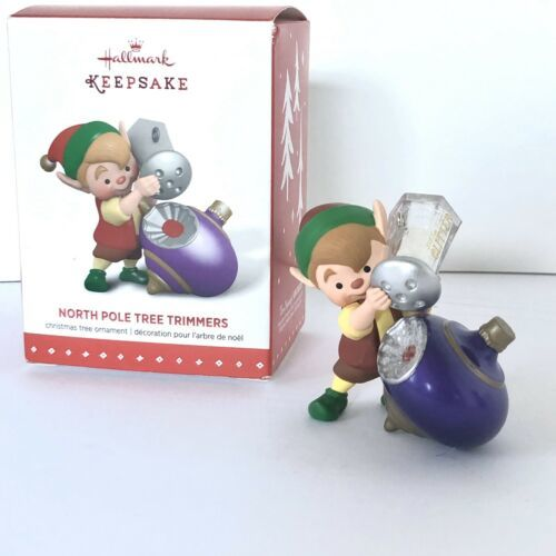 Hallmark Keepsake Ornament 3rd In The North Pole Tree Trimmers Series 2015 New image 4