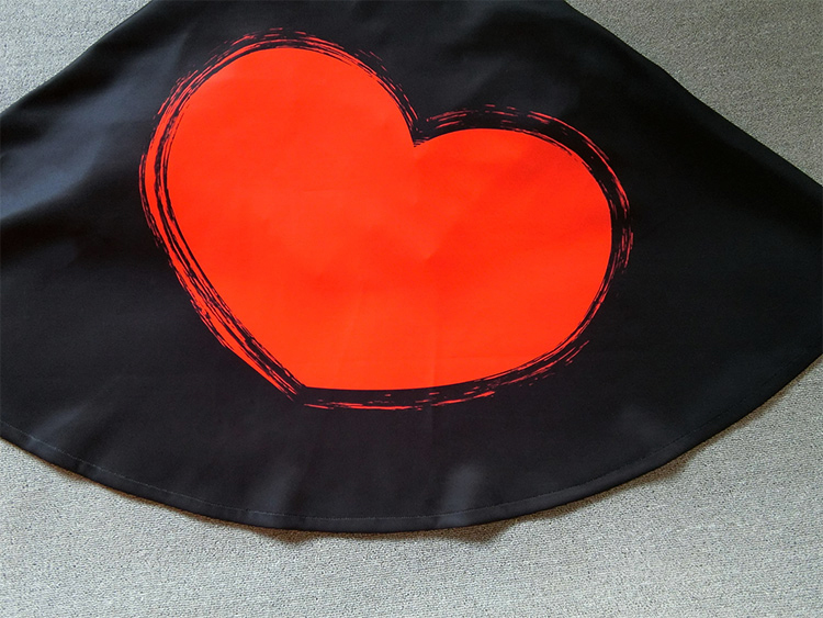 Black circle skirt 3