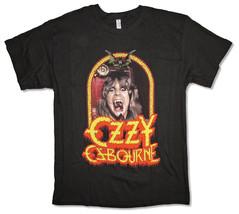 Ozzy Osbourne-Devil Frame-Medium Black  T-shirt - $21.28