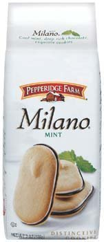 Pepperidge Farm Mint Milano Cookies, 7-ounce bag (pack of 6) image 3
