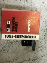 1983 GM Chevy Camaro Service Shop Reparatur Werkstatt Manuell Set W Bowt... - $27.67