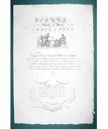 "1826 PENMANSHIP Calligraphy Roman Story- 12"" x 18"" (30 x 46 cm) Superb P... - $43.84"