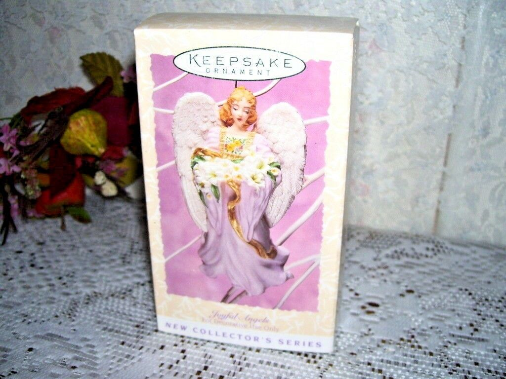 Primary image for 1996 Hallmark Easter Ornament Joyful Angels MIB