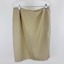Calvin Klein Womens Skirt Pencil Skirt Pin Striped Fully Lined Career Si... - $15.54