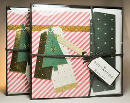 Hallmark Traditions: Boxed Christmas Cards - Candy Cane Stripes - 2 Boxes of 8 - $16.35