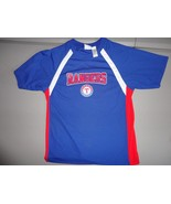 Blue Texas Rangers  MLB Polyester  Screen Jersey Shirt Youth XL EXCELLENT - $21.62