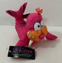 Splash Lil Buddies Pink Orange Walrus Plush Pool Nylon Bath tub Water To... - $17.81