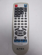 OEM Apex RM-1225 DVD Remote Control for DHX11000A TDB3000AR TDB3000 TESTED - $9.45