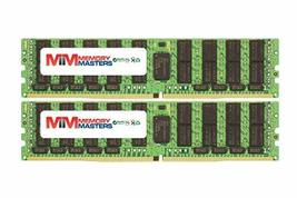 Memory Masters 64GB (2x32GB) DDR4-2400MHz PC4-19200 Ecc Lrdimm 2Rx4 1.2V Load Red - $287.09