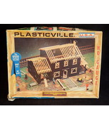 Vintage PLASTICVILE USA HO Scale HOUSE UNDER CONSTRUCTION Model #2803 - $13.85