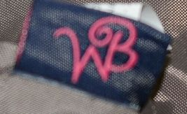 WB Brand M630HRBN Herringbone Ultimate Tote Cotton Inside Lining image 7