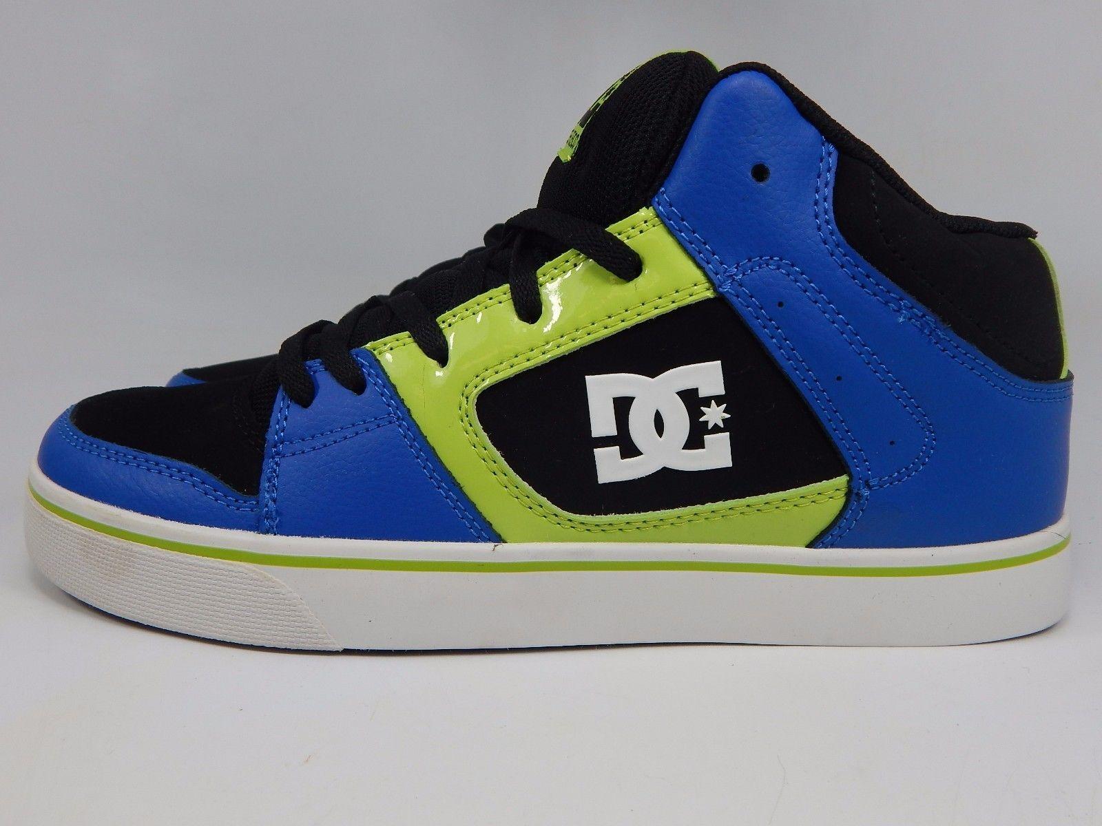 DC Patrol Round Toe Leather Men's Skate Shoes Size US 9.5 M (D) EU 42.5 Black