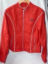 Ladies Harley Davidson Rain / Wind Lightweight Jacket SIZE L RED - $71.99