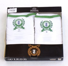 Izod Collegiate White Stretch Crew Neck Tee Shirts 2 Pack New in Package... - $22.49