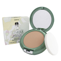 Clinique PERFECTLY REAL Compact Makeup Shade 102 (VF-N) Retired NEW in BOX - $46.50