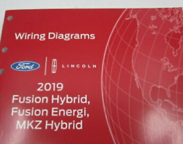 2019 Ford Fusion Hybrid & Lincoln MKZ Electric Wiring manually EWD - $17.76
