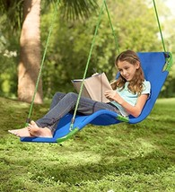 HearthSong Hanging Lounge Chair Kids Hammock Tree Swing Soft Sturdy Weat... - $90.71