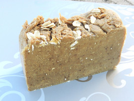 Lard and Lye Goats Milk Soap with Honey and Oatmeal. Big bars up to 6oz ... - $6.35+