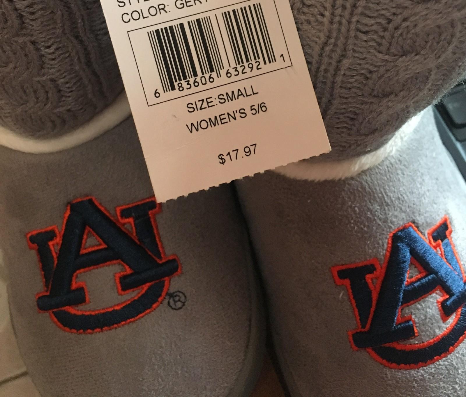 Auburn University Fur Knit Boots AU Logo Women's Many Sizes image 7