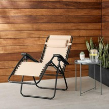 Premium Zero Gravity Lounge Chair Outdoor Indoor Relax Comfort Sturdy Se... - $55.61