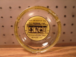 CC Propane Bedford Bloomington Ohio Advertising Ash Tray 1950s - $8.09