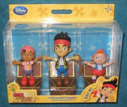 Disney Store Jake and the Neverland Pirates Push Puppets. Brand New. - $12.86