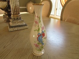 "LENOX CHINA BUD VASE ETERNAL LOVE LIMITED EDITION 8""H MADE IN USA  - $7.87"