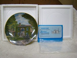 "Gorham Southern Landmark Series Fine China Collector Plate ""Ashland"" Ltd Edition - $13.81"