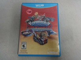 EUC Skylanders: Superchargers - Nintendo Wii U Video Game Complete Free Ship - $14.84