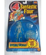Fantastic Four Invisible Woman Clear Figure 1995 Toy Biz Marvel Comics NEW - $14.49
