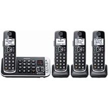 Panasonic KX-TGE674B Link2Cell DECT 6.0 Expandable Cordless Phone - 4 Ha... - $140.14