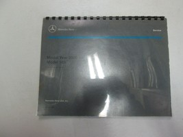 2000 Mercedes Benz Model 163 Introduction into Service Manual MINOR WEAR OEM 00 - $52.46