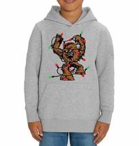 Star Wars Chewbacca Fairy Lights Children's Grey Unisex Hoodie - $28.83
