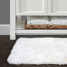 "Bath Rug, Non Skid Back, Soft Faux Fur - St. Lucia Prima 20"" x 40"" - $29.69"