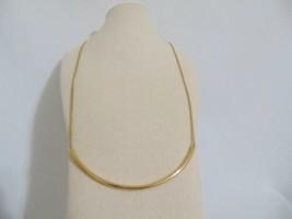 Michael Kors Gold-Tone Curved Bar Slider Necklace $125 - $72.00
