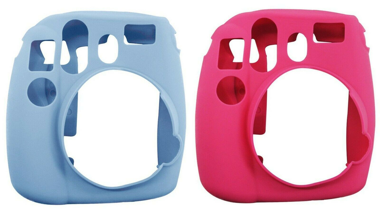 ATNY Instax Instant Camera Silicone Case - Pink or Blue NEW