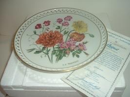 Bing & Grondahl Country Garden August Plate by Linda Thompson w Box COA - $22.99